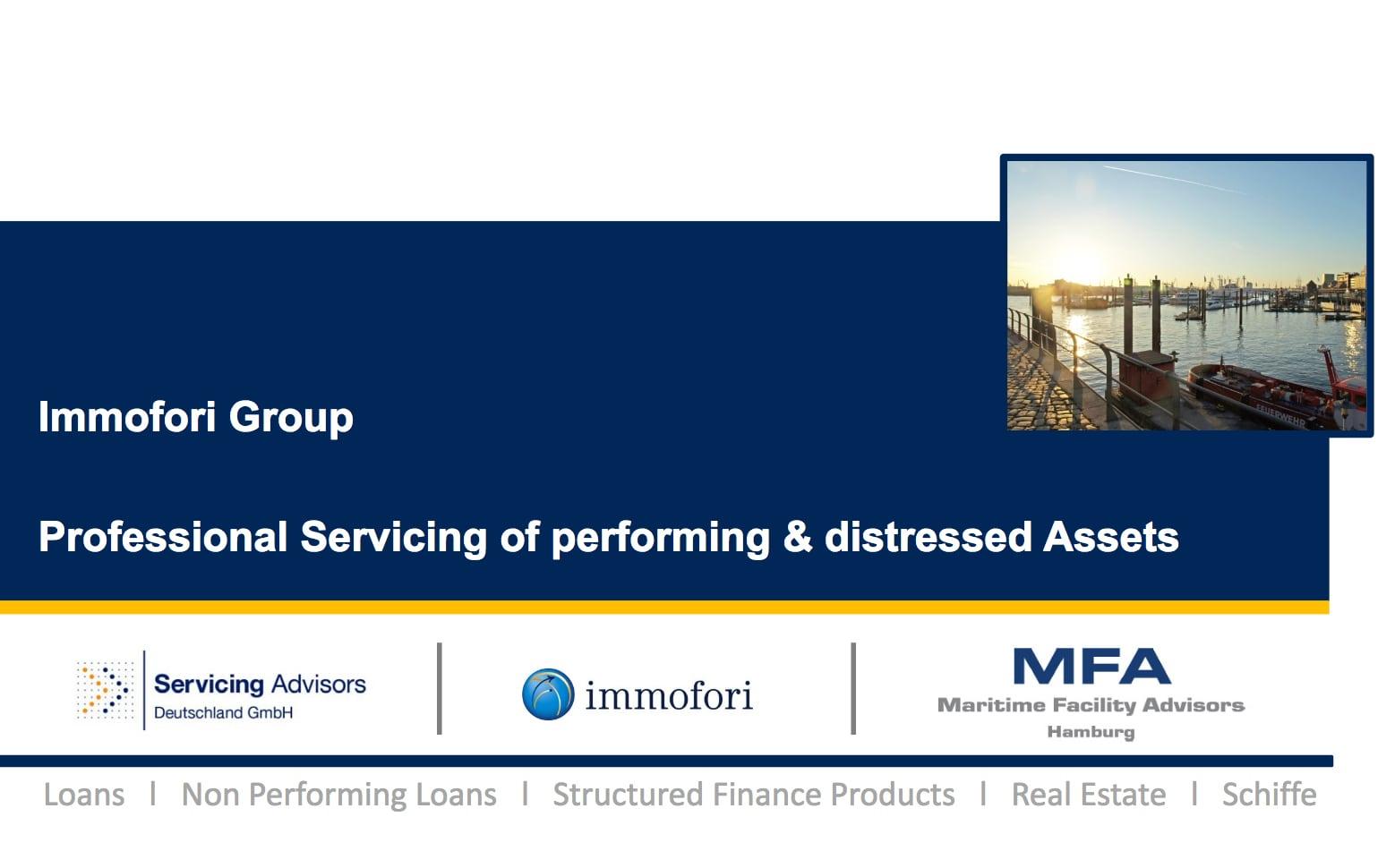 Immofori Group Website
